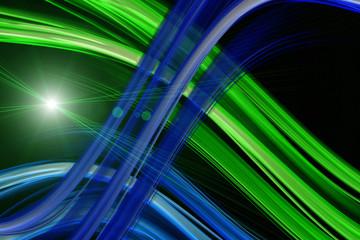 futuristic eco background design with lights