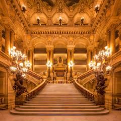 Photo sur Aluminium Bestsellers Treppenhaus in der Oper
