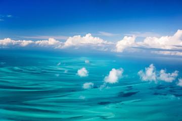 Foto op Aluminium Luchtfoto Bahamas aerial