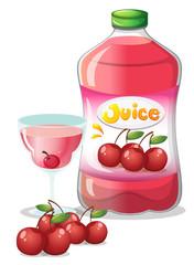 Cherry juice drink