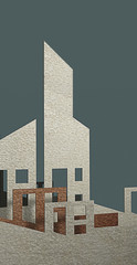 Real Estate Icons made in 3d software
