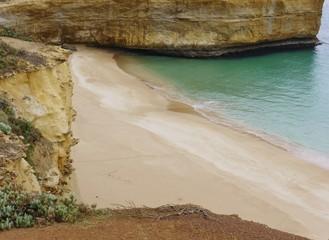 The beach of London arch in Australia