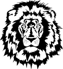 lion head black