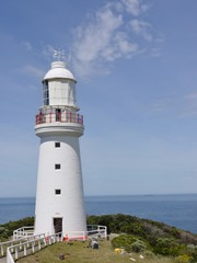 Cape Otway Lighthouse on Cape Otway in Victoria