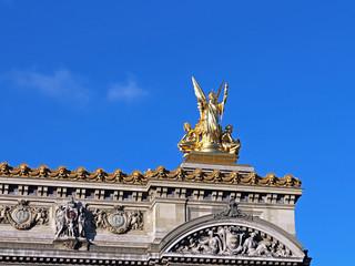 statue de l'Opéra Garnier - Paris