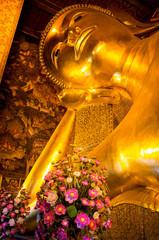 Head of the reclining Buddha