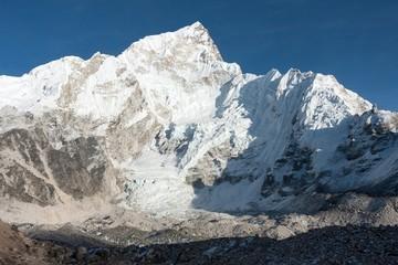 Nuptse and Khumbu Glacier from Gorak Shep, Solukhumbu, Nepal