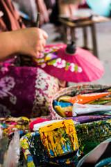 Painting umbrella Thailand