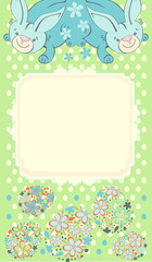 vector backgrounds form easter eggs hare rabbit