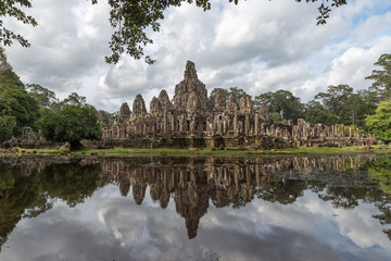 Angkor Thom in Siem Reap, Cambodia