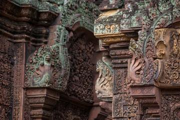 Banteay Srey Temple  in Sieam Reap, Cambodia