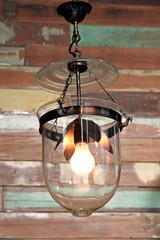 Ancient lamp.