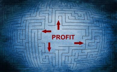 Profit maze concept