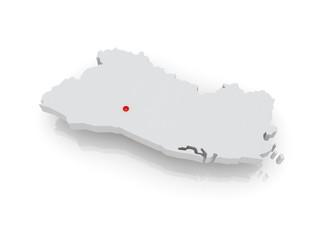 Map of Salvador