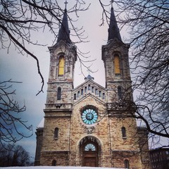 Medieval church in Tallinn, Estonia