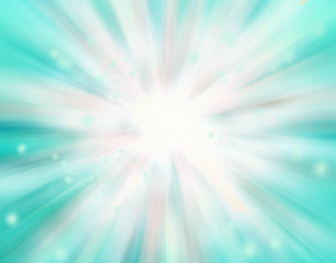 Beautiful abstract fantasy background, soft blurred rays of ligh