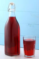 delicious cranberry juice