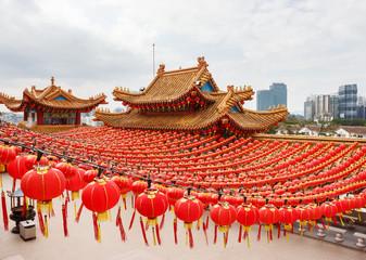 Wall Murals Kuala Lumpur Chinese Temple Thean Hou in Kuala Lumpur