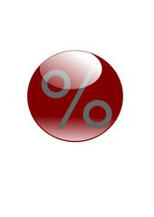"""Button """"%"""""""