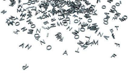 Typographic background