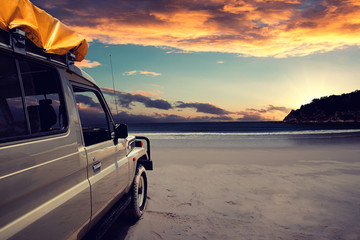 4WD at the Beach
