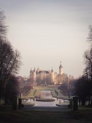 The Schwerin Castle in Winter