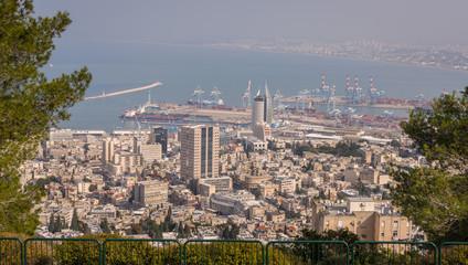 Haifa from Yafe Nof