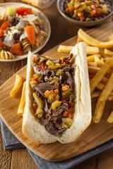 Hearty Italian Beef Sandwich
