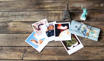 A set of photos as a beautiful keepsake