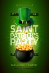 Obraz St. Patrick's Day Poster - fototapety do salonu