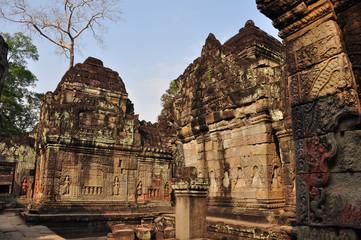 Preah Khan at Siem Reap, Cambodia