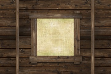 Blank Wall Canvas Frame