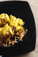 Lemon Garlic Tikka – a grilled chicken dish.