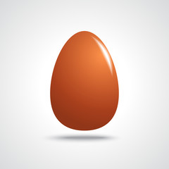 Brown Easter Egg