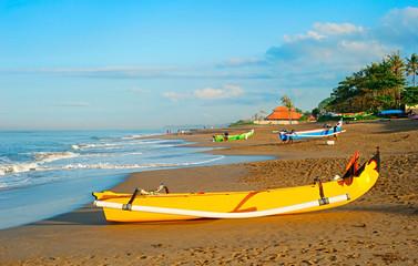 Fisherman village on Bali