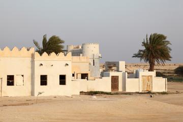 Zekreet Film City and Mystery Village, Qatar, Middle East