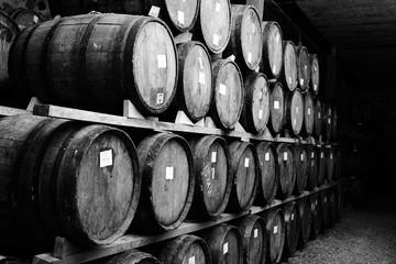 Fotomurales - Wine barrels