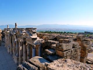 Scène Théâtre Amphithéâtre Hiérapolis Hierapolis 2