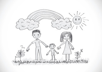 Children's drawings kid drawings