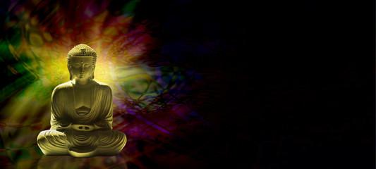 Meditating Buddha Website Banner head