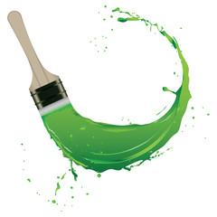 Splash of paint