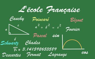 L'ecole et les mathématiques