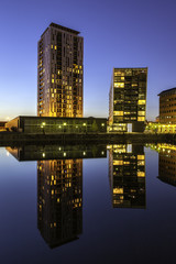 Wall Mural - Modern architecture salford Quays Manchester