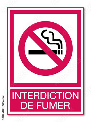 panneau interdiction de fumer fichier vectoriel libre. Black Bedroom Furniture Sets. Home Design Ideas