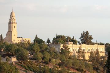 Panorama of old city Jerusalem
