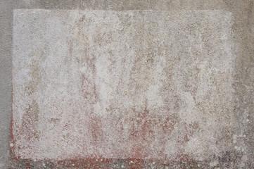 Hintergrund Wand mit Anstrich als Tafel