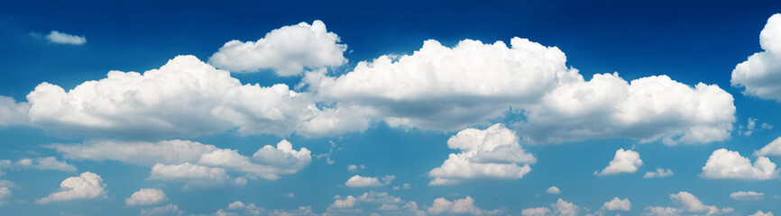 Canvas Prints Heaven Panorama sky and clouds