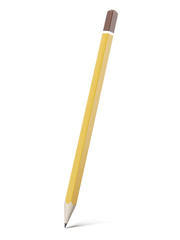 old yellow pencil