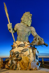 King Neptune at Neptune Park, Virginia Beach