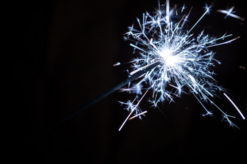 Blue Party Sparkler
